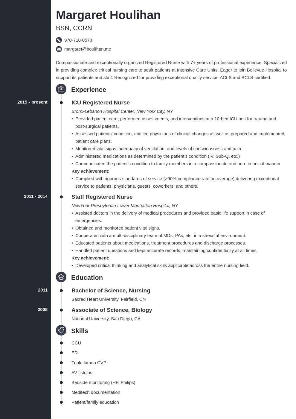 Icu Nurse Resume Example Template Concept Resume Examples Medical Assistant Resume Resume
