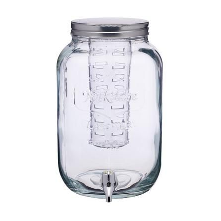 Dunelm Clear Drinks Dispenser With Glass Infuser 7 5 Litre Drink Dispenser Drinking Jars Drinks
