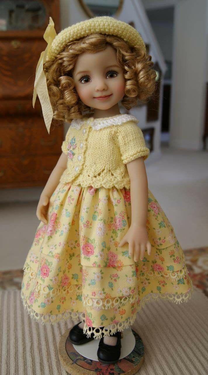 Pin von Kathy McCrary auf Dolls | Pinterest | Puppenkleider nähen ...
