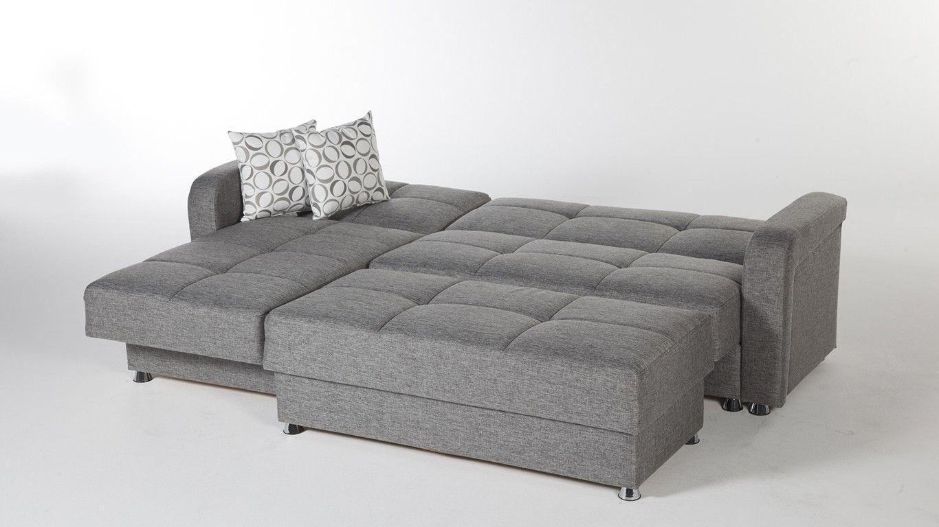 Sleeper sectional sofa contemporary