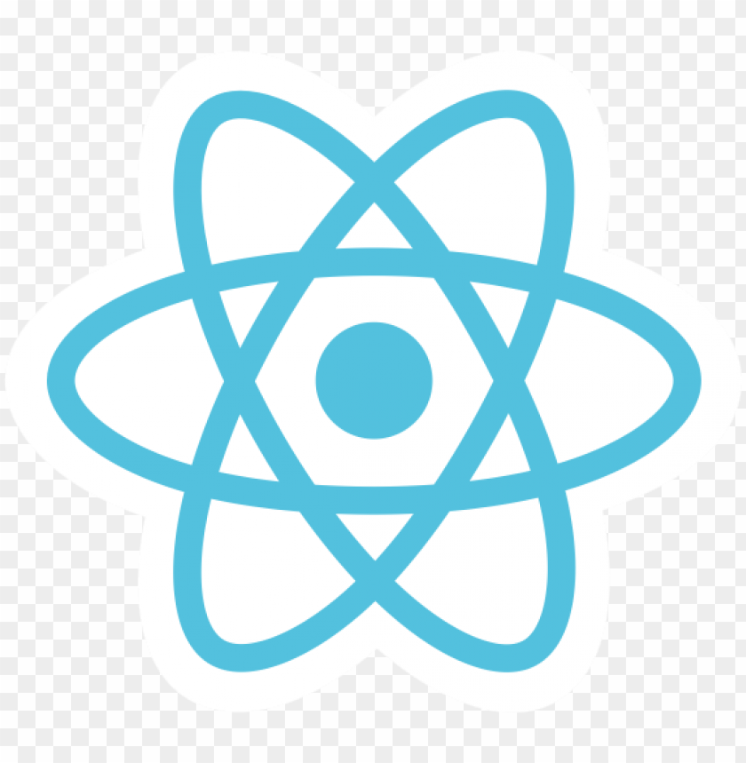 React Logo Icon Png Image With Transparent Background Png Free Png Images In 2021 Logo Icons Clip Art Png Images