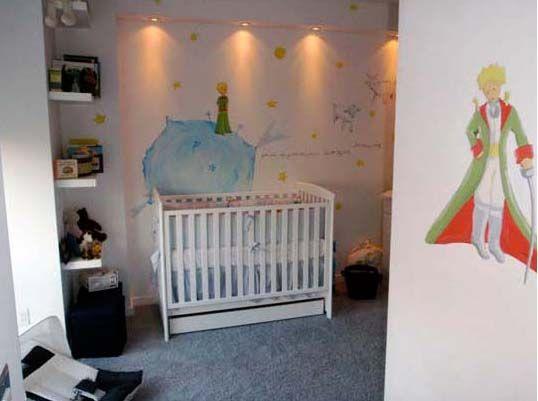 Look Le Pe Prince Nursery Mural