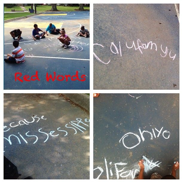 #Teaching #Summer #KeyWords #Students #School #States. LOVE teaching..aren't my kids the cutest learning they're states?