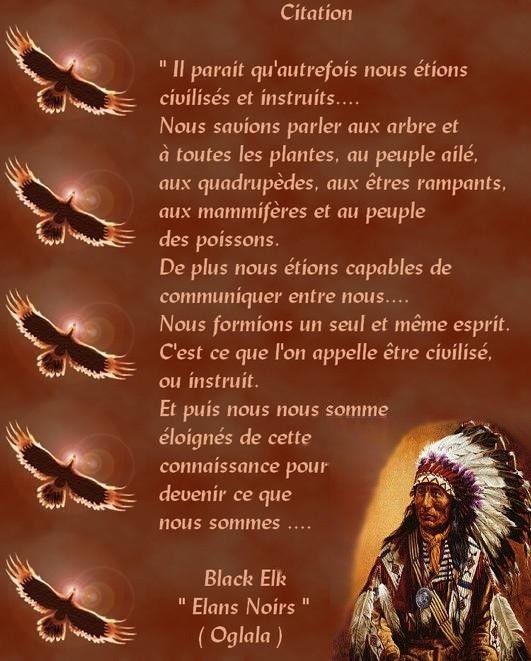 Très Sagesse Amérindienne … | Pinteres… BC29