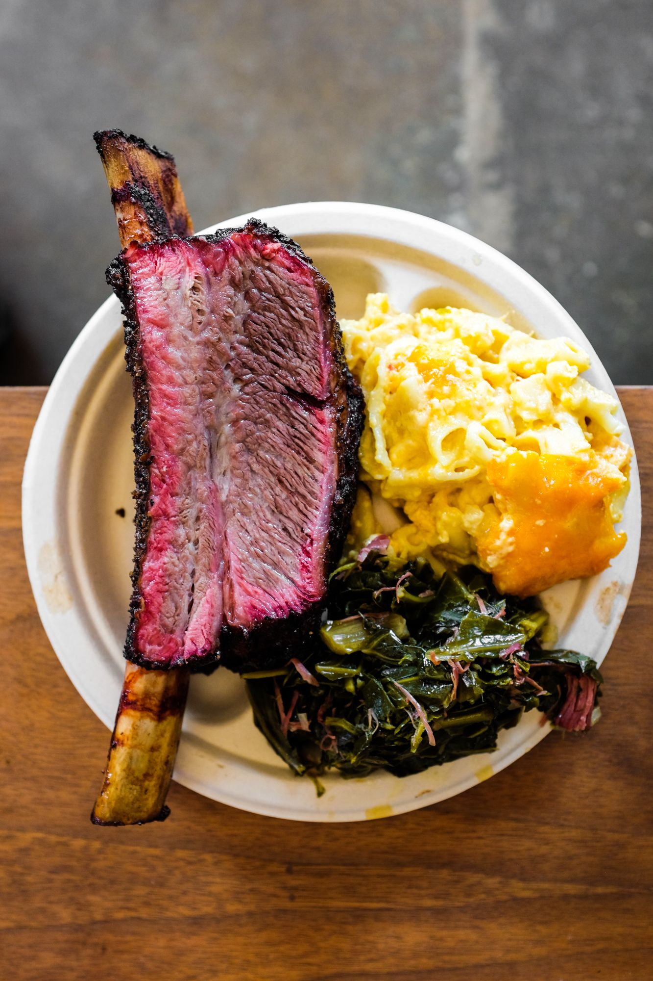 The Texas Style Beef Rib At Smokin Woods Bbq Cafe One Of 18 Best Restaurants In Oakland Run By James Woodard And His Family