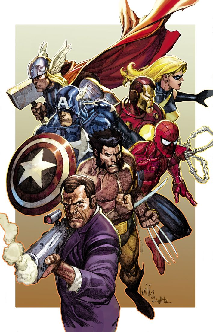 secret invasion 8 alternate cv by deanwhite