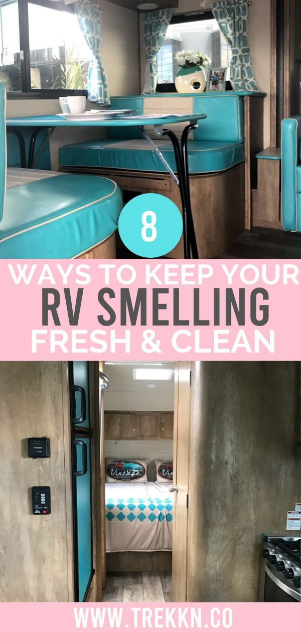 8 Ways to Keep Your RV Smelling Fresh & Clean