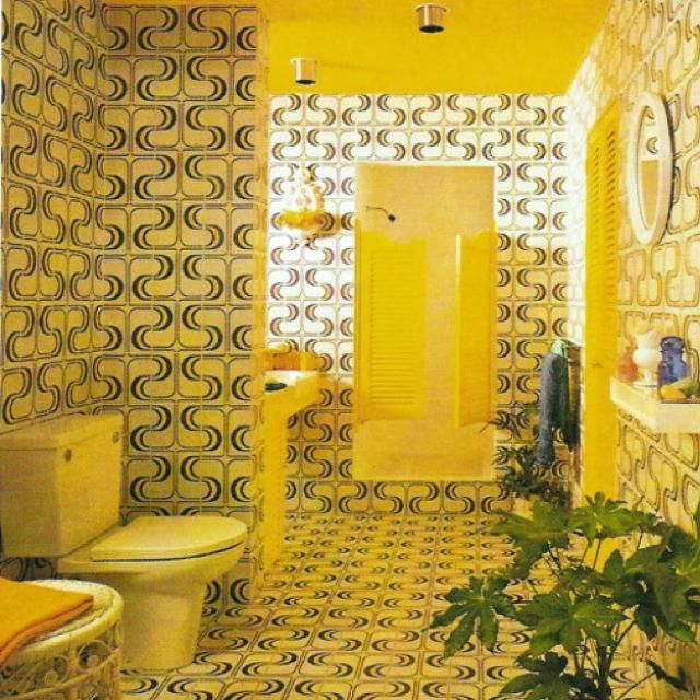 Wallpaper From The '60s And '70s Will Make You Want To Redecorate Now 1970's bathroomThe In Sound from Way Out!  The In Sound from Way Out! may refer to: