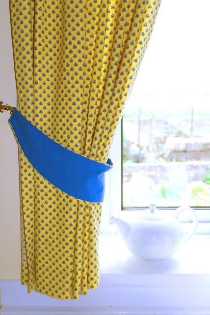 How To Make Piped Curtain Tie Backs Jessica Scissorhands Curtain