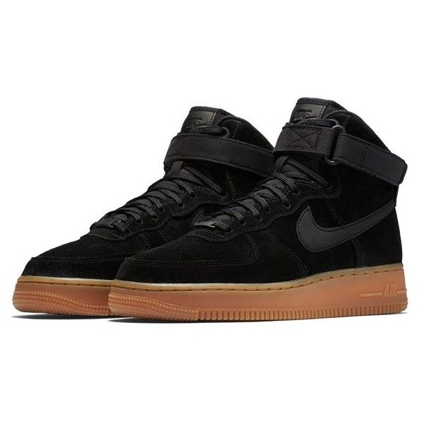 huge selection of 94998 34767 Women s Nike Air Force 1 High Top Se Sneaker ( 110) ❤ liked on Polyvore  featuring shoes, sneakers, ankle tie shoes, air sole shoes, ankle wrap  shoes, ...