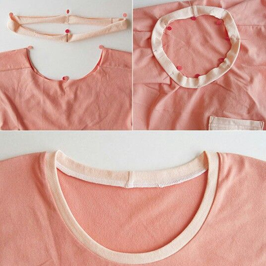 Wanna Know How To Finish Your Knit Neckline? Easy, Use A