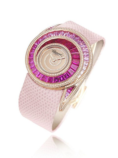#Chopard High Jewellery - Pink #Watch by 'CHOPARD' via flickr #Jewelry♥•♥•♥Gorgeous♥•♥•♥