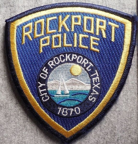 Rockport PD TX LE patches Fire badge, Police, Local police