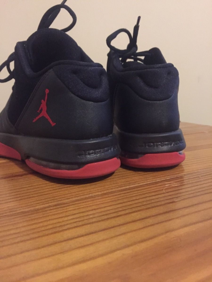 70c201958ca4 Used Black-and-red air jordan basketball shoes for sale in Winston ...