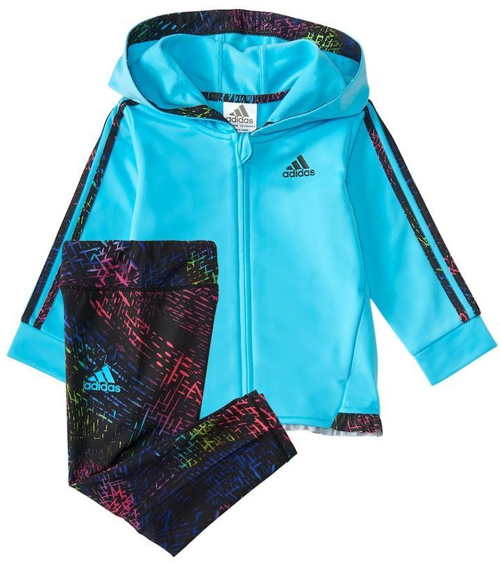 Baby Girl Adidas Space Dye con con capucha y Adidas conjunto 12 de polainas, Tamaño: 12 meses b9763c3 - hotlink.pw