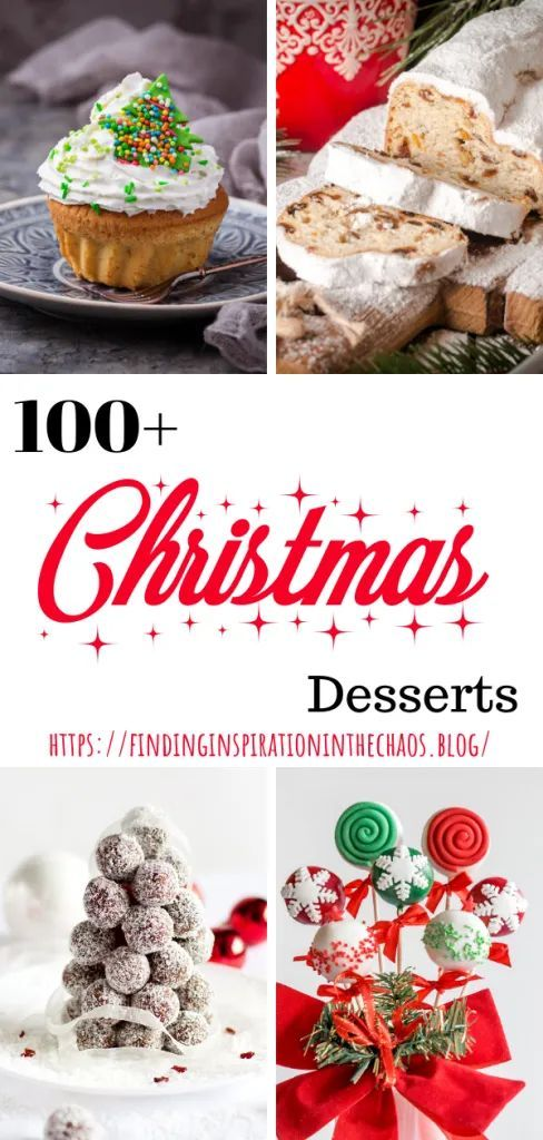 100+ Christmas Desserts ⋆ Finding Inspiration In The Chaos 100+ Christmas Desserts: Baking brough