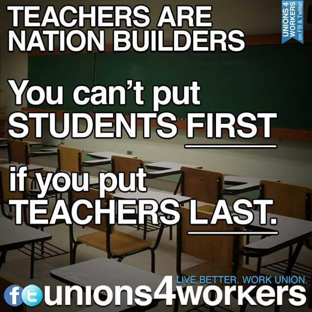 Teachers Are Nation Builders Lehrerspruche Spruche Lehrer