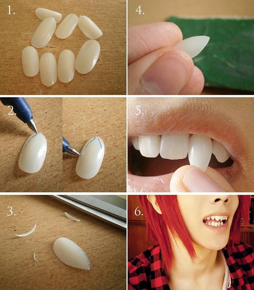 Photo of Shark teeth – tutorial by Akitozz6 on DeviantArt