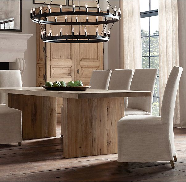 Dining Room Table Slides: New Parsons Chairs For The Dining Room {Getting The Vibe