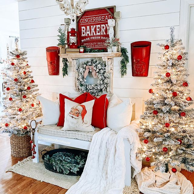 - The picture perfect @balsamhill Christmas tree, decked out with @balsamhill ornaments, tree topper, and skirt- A @balsamhill wreath- Dinner for the whole family- @Fabfitfun winter box- A basket of toys from @greentoys- The ultimate Hallmark movie watching kit- PLUS $1,500 cash + more!
