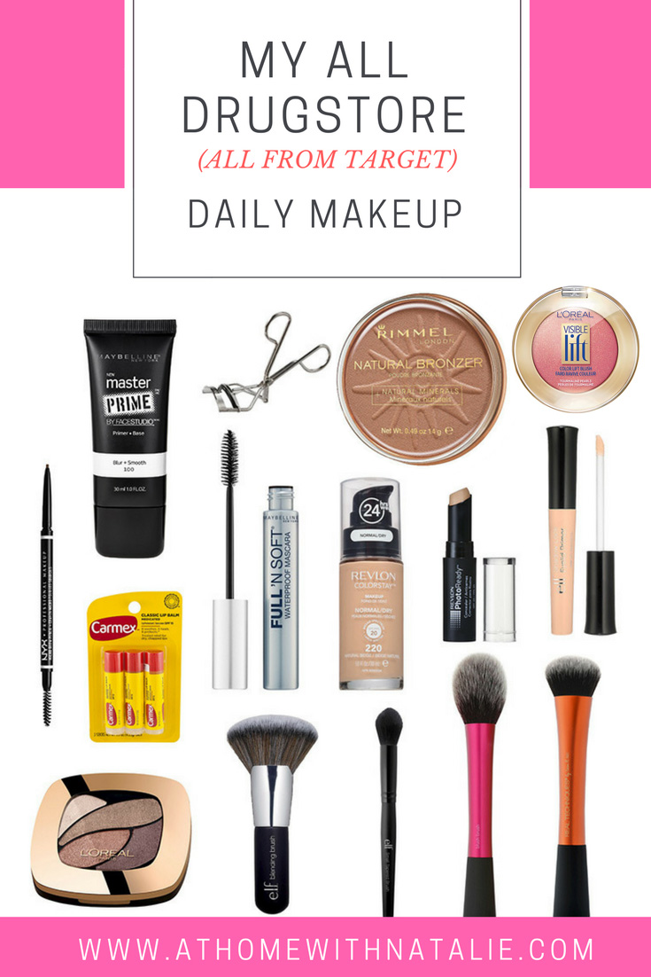 My Daily Makeup Routine All Drugstore Products All From Target Daily Makeup Routine Daily Makeup Best Target Makeup