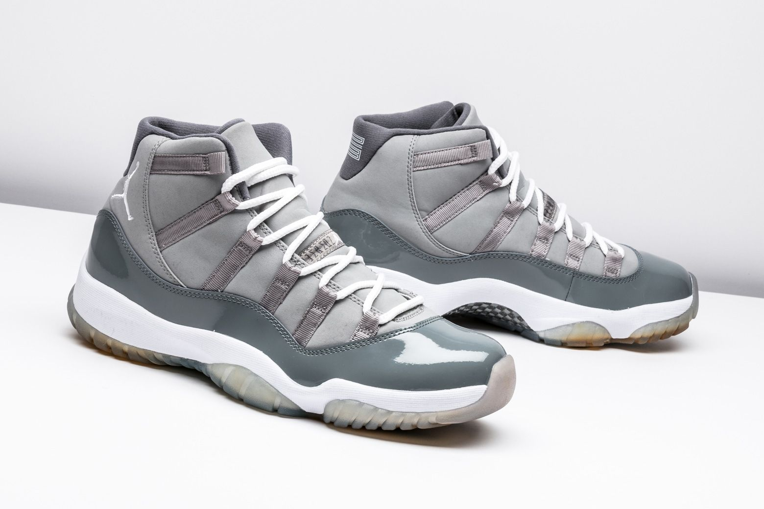 "Air Jordan 11 Retro ""Cool Grey"" 378037 001 in 2020 (With"
