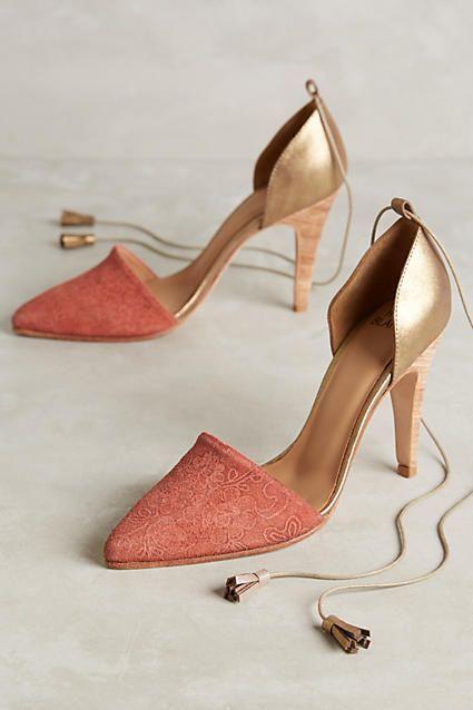 Huma Blanco Maribela Heels Light Red 6 Heels | Chaussure