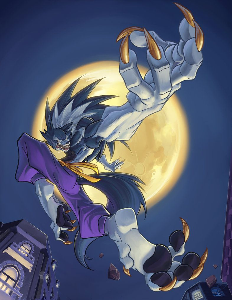 Darkstalkers Tribute: FIERCE by *E-Mann