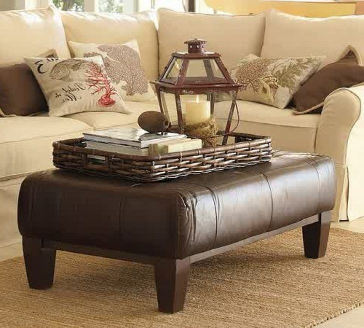 Best Espresso Ottoman Coffee Table