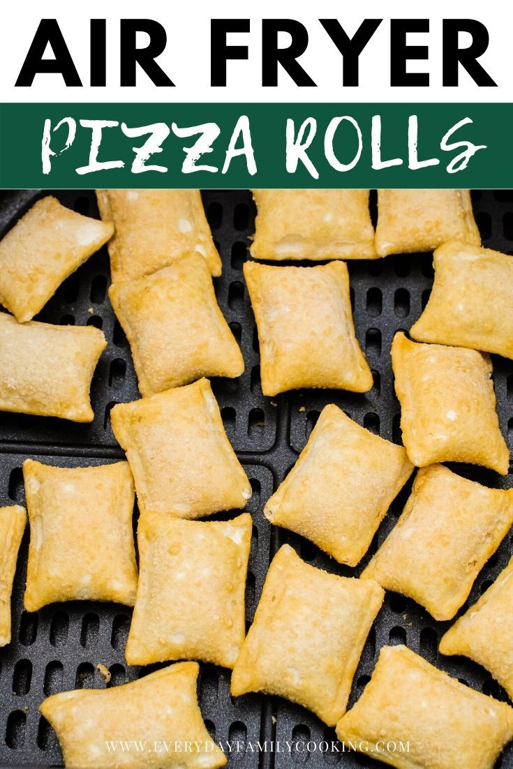 how to make totino's pizza rolls in air fryer