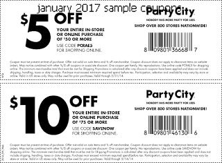 graphic regarding Party City Coupons Printable referred to as Bash Metropolis Discount coupons no cost printable discount coupons december 2017