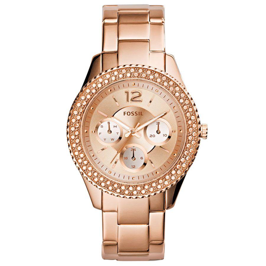Fossil Fes3590 Bayan Kol Saati Saat Ve Saat Bayan Saatleri Bilezik Saat Aksesuarlar