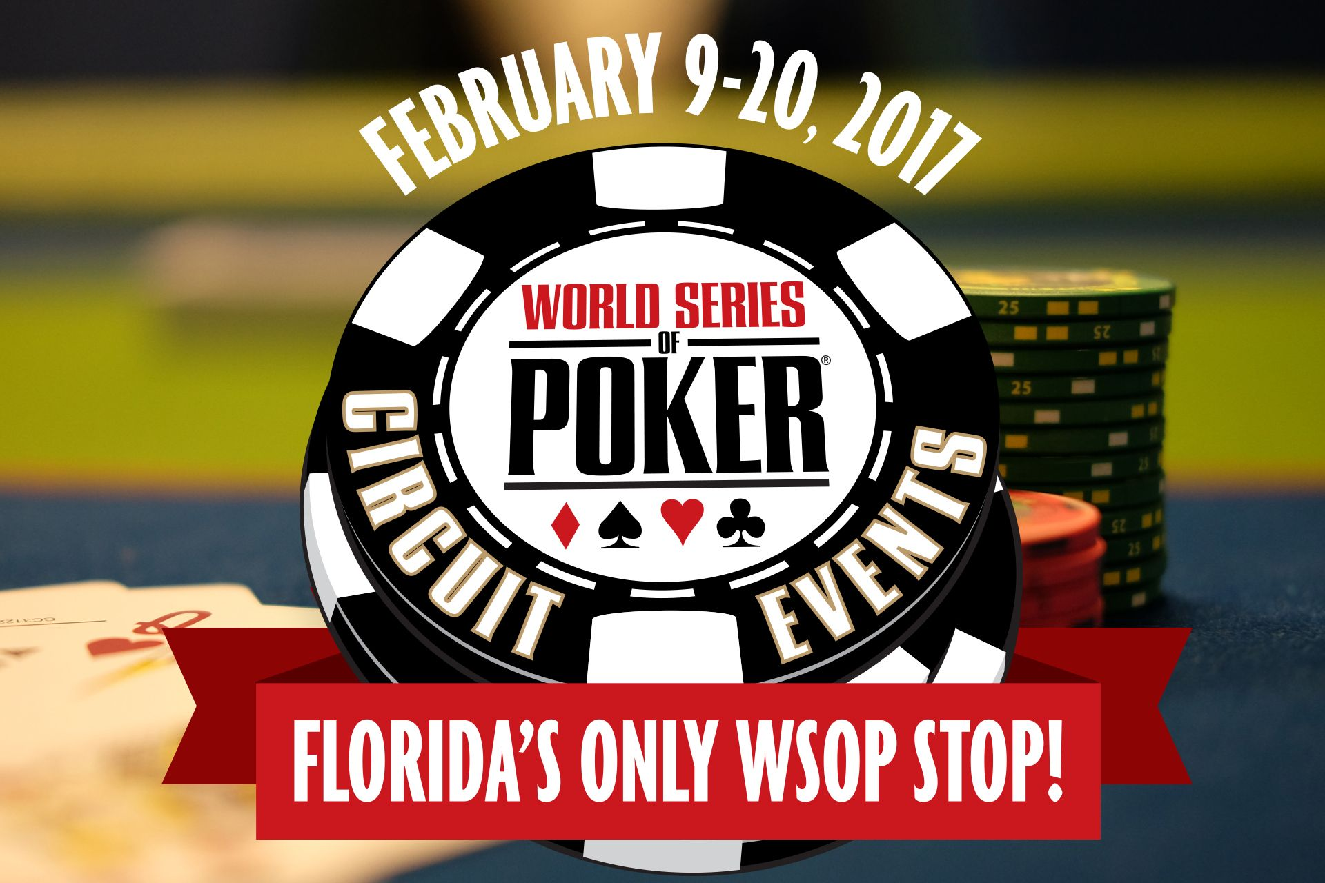 2017 World Series of Poker Circuit Events World series