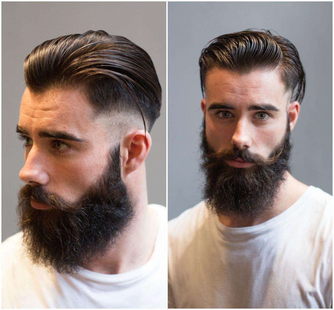 fade beard - pesquisa google   barbier   pinterest   low fade
