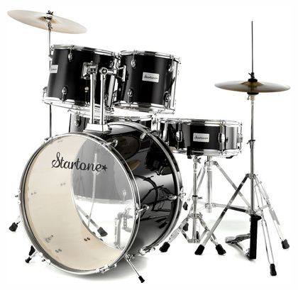Startone Star Drum Set Standard -BK #Thomann