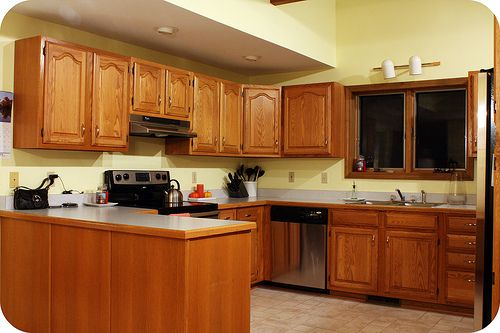 5 Top Wall Colors For Kitchens With Oak Cabinets Wall