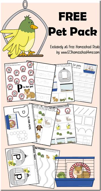 Free Pet Themed Printable Pack Pets Preschool Theme Pets Preschool Preschool Themes