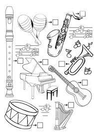 Resultado De Imagen Para Musica Criolla Para Colorear Music Activities Preschool Music Music Printables