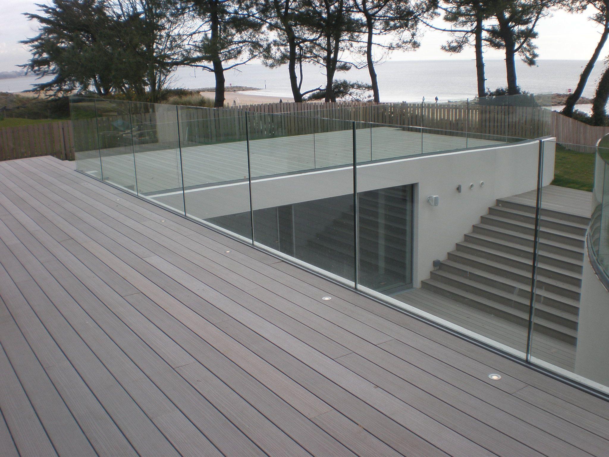 Glass railings for decks - Frameless Balustrade Glass Google Search