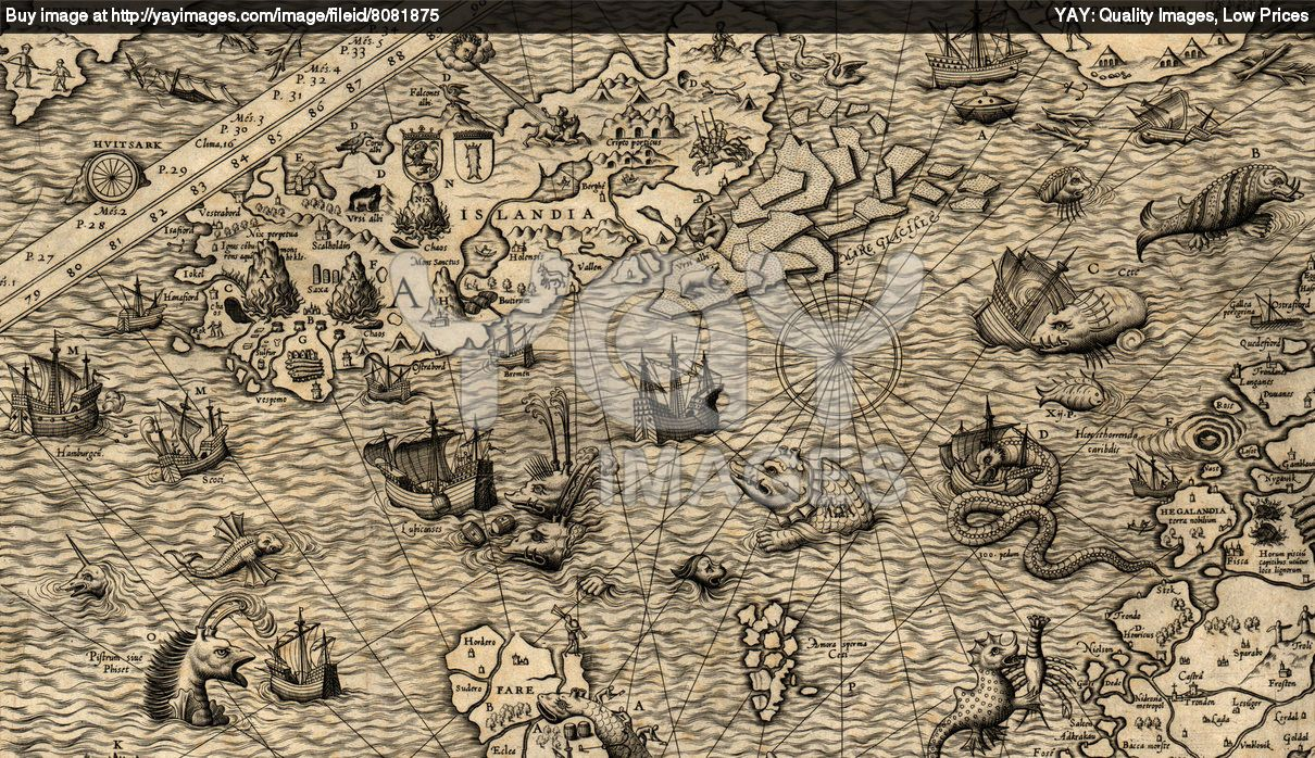 antique world map tattoo antique map of northen sea jpg  antique map of northen sea buy this stock photo on shutterstock other images
