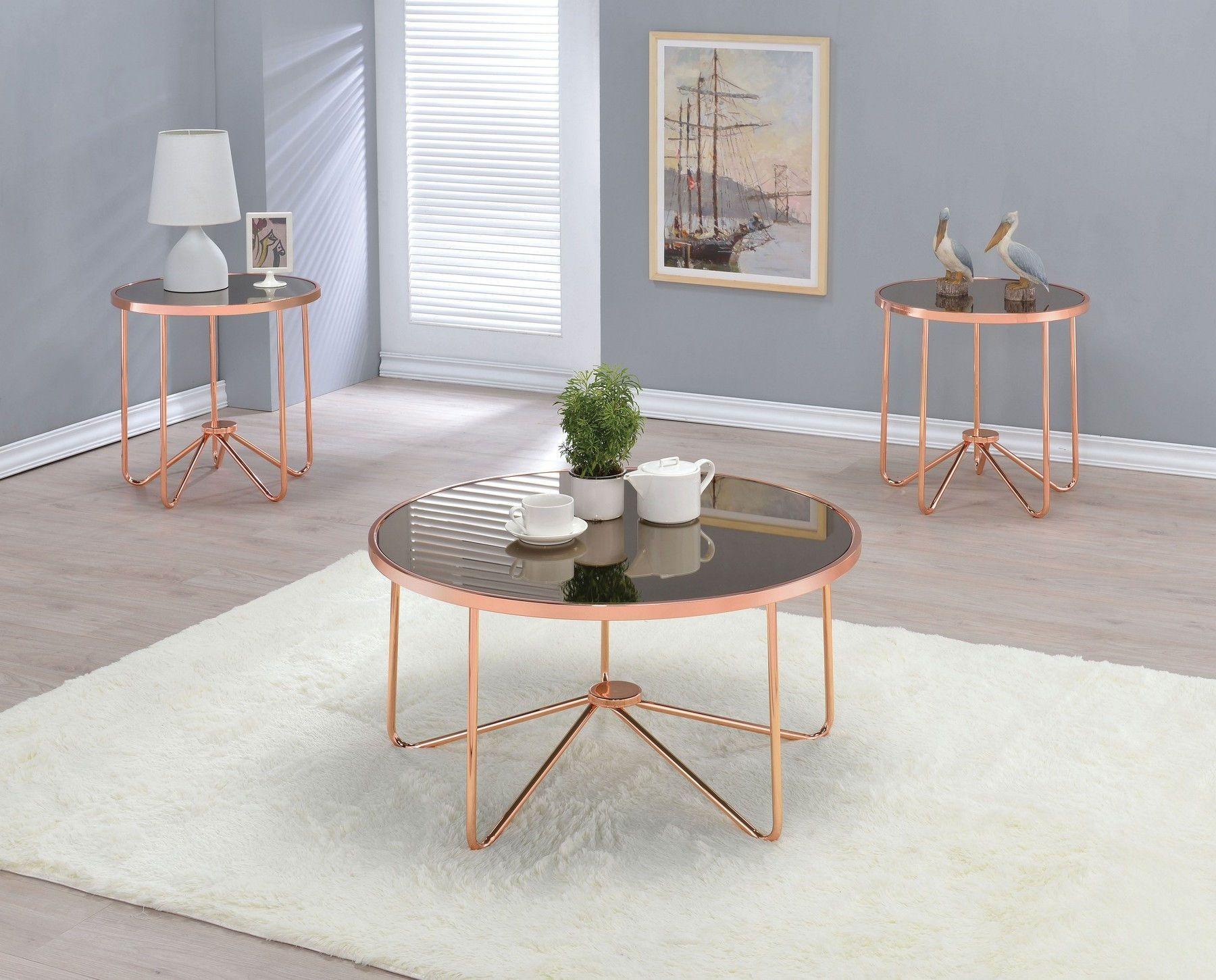 Alivia Coffee Table 81840 Acme Corporation Coffee Tables Gold Coffee Table Coffee Table Rose Gold Coffee Table [ 1451 x 1800 Pixel ]
