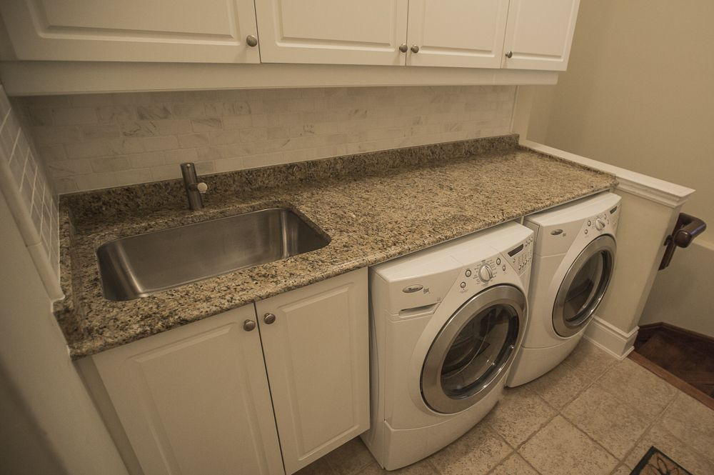Laundry Room Reno With Granite Countertops Laundry Room Diy
