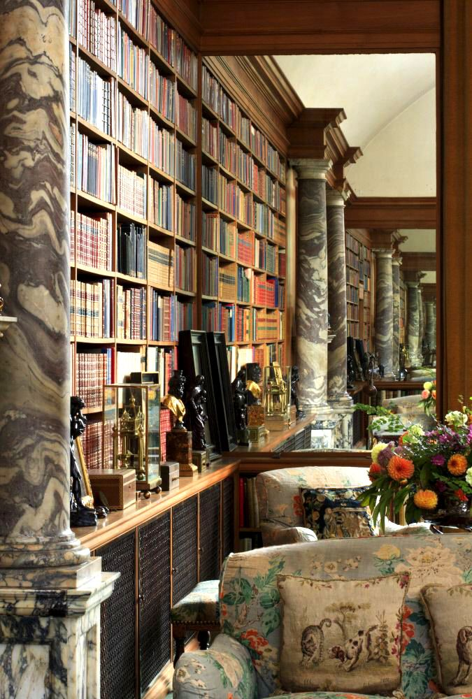 The Library at Anglesey Abbey, Cambridgeshire. ©National Trust Images/John Hammond
