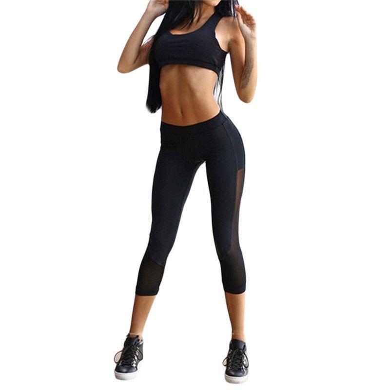 66f755124f212 Women Sport Set Aerobic, Calisthenics Gym Activewear Training Outfit ...