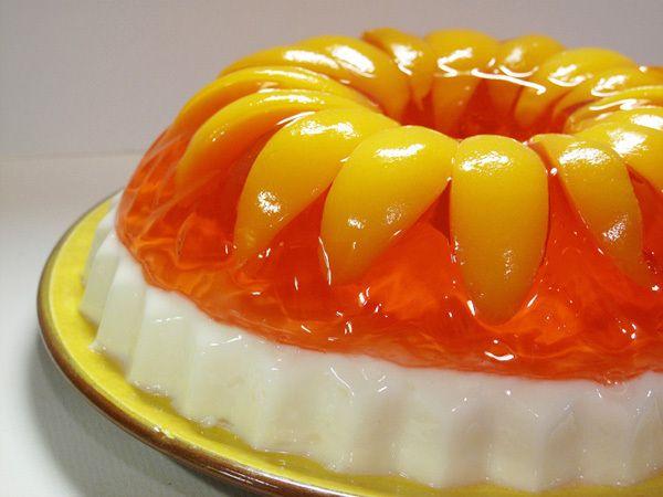Peaches & Cream Jello