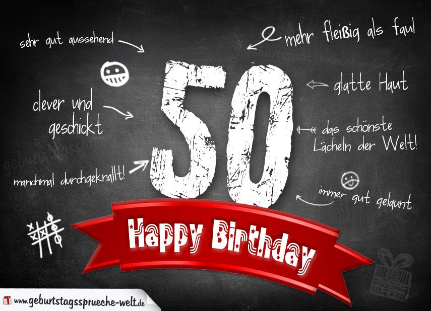 Wunsche zum 50 geburtstag freund