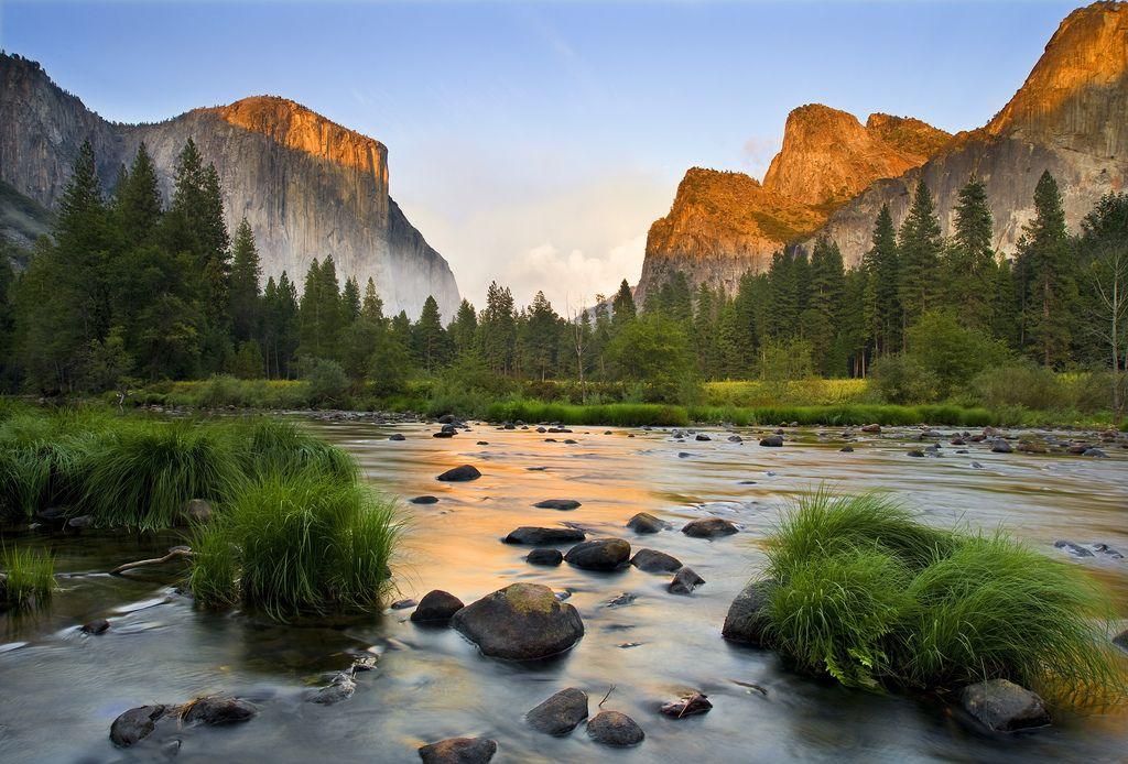 Yosemite National Park California USA Gates of