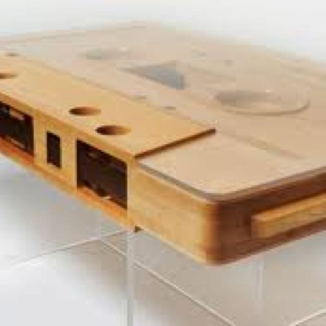 Cassette Coffee Table For The Home Pinterest - Cassette coffee table