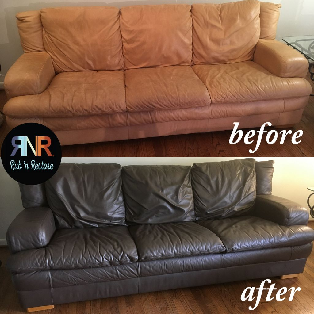 Espresso Vinyl & Leather Dye | Real \'n Restored | Leather ...