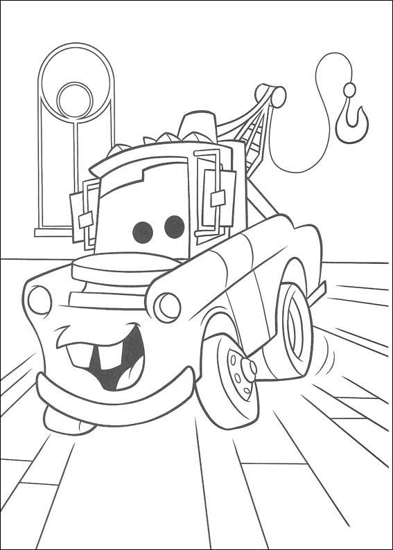 Dibujos para Colorear Cars 38 | Coloring | Cars coloring pages ...